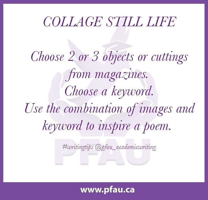 collageprompt Improve your Communication Skills by Engaging with Poetry